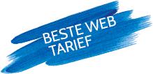 beste tarief op het web