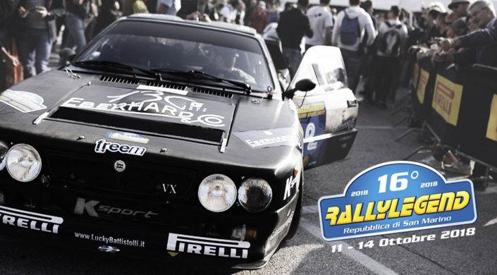 Offerta Rallylegend 11 – 14 Ottobre 2018
