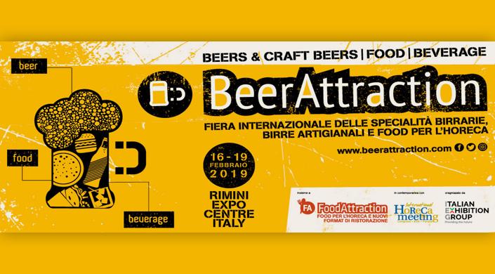 Offerta Fiera Beer Attraction dal 16 al 19 febbraio 2019