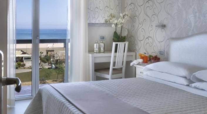 July Offer All Inclusive Sea Front Hotel at Rimini