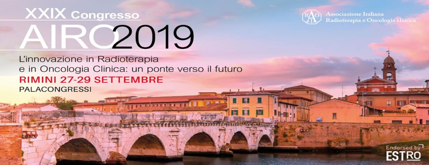 Offerta Congresso AIRO 2019 Rimini 27 – 29 settembre