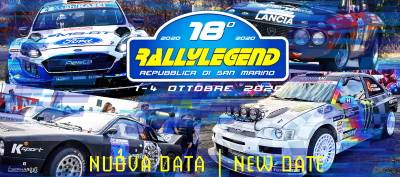 Offerta Rallylegend 1 – 4 Ottobre 2020